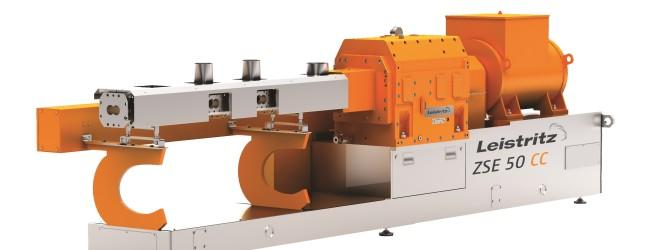 Chinaplas: Leistritz introduced new extruder series