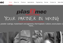 Plas Mec: new website launch