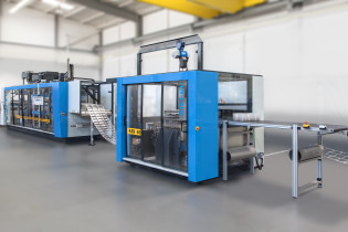 Kiefel presents the punch press KES 85 at Chinaplas