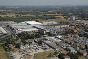 SACMI plant top view