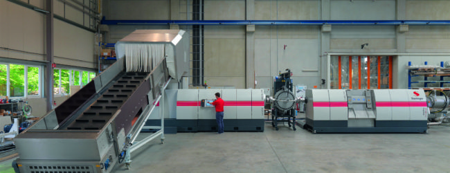 Starlinger recycling technology: new machine size scores big on manpower savings, energy efficiency