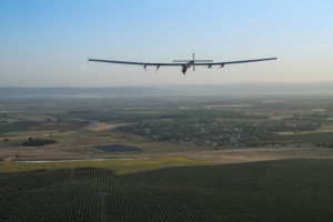 covestro Solar Impulse Landing in Seville