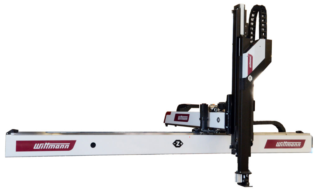 New WITTMANN robots for large and small injection molding machines