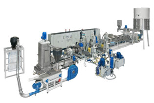 Binova BiReC: recycling and compounding line with co-rotating twin-screw extruder