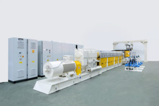 Co-rotating twin-screw extruders by Maris