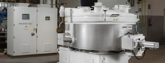 Plas Mec: giant mixer for Thermoplastic Elastomers (TPE)