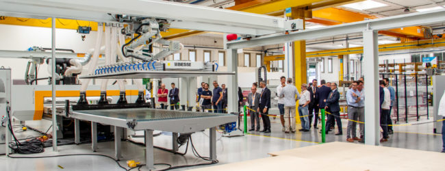 Doors open in Biesse for those who process technological materials