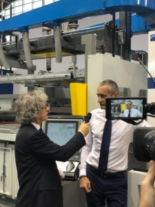 Fakuma2018 A video-interview with Massimo Guerra by CMS SpA