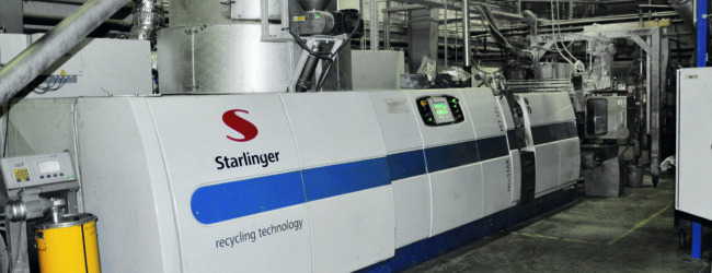 Starlinger and PET2PET boost PET recycling