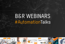 B&R automation in 7 global webinars