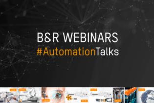 B&R automation in 7 global webinars