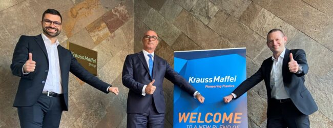 Tiziano Caprara starts as new Managing Director of KraussMaffei Italy