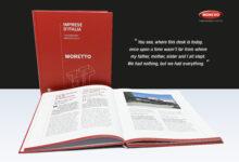 Moretto's 40 years celebration book