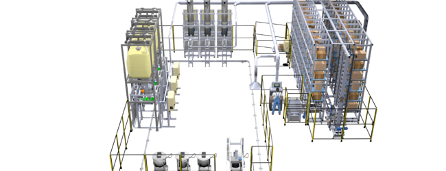 Innovative automatic dosing system for the plastic industry