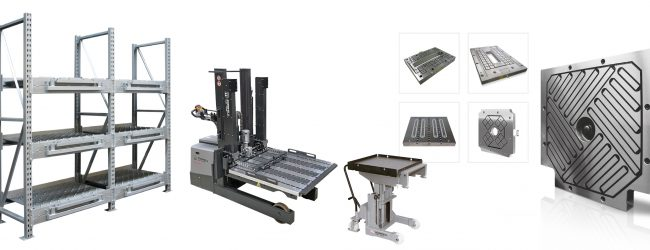ROEMHELD at the Fakuma: Efficient die or mould handling throughout the entire process chain