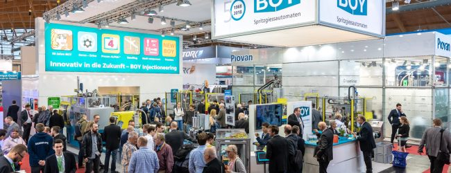 """BOY-exhibits """" live and touchable"""" at Fakuma 2021"""
